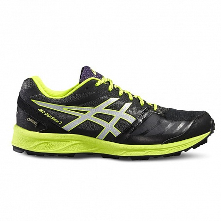Asics GEL-FujiSetsu 2 G-TX - Black/Silver/Safety Yellow