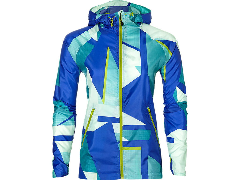 Asics Куртка Fuzex Packable Jacket W - Shatter Arctic Aqua