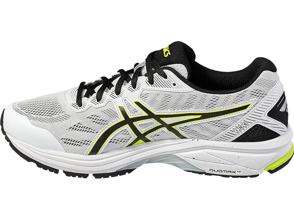 Asics GT-1000 5 M - White / Safety Yellow / Black