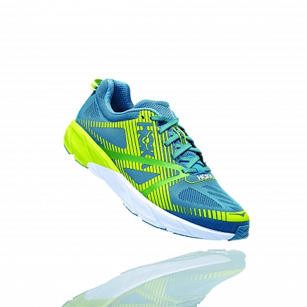 HOKA ONE ONE TRACER 2 M - Storm Blue / Lime Green