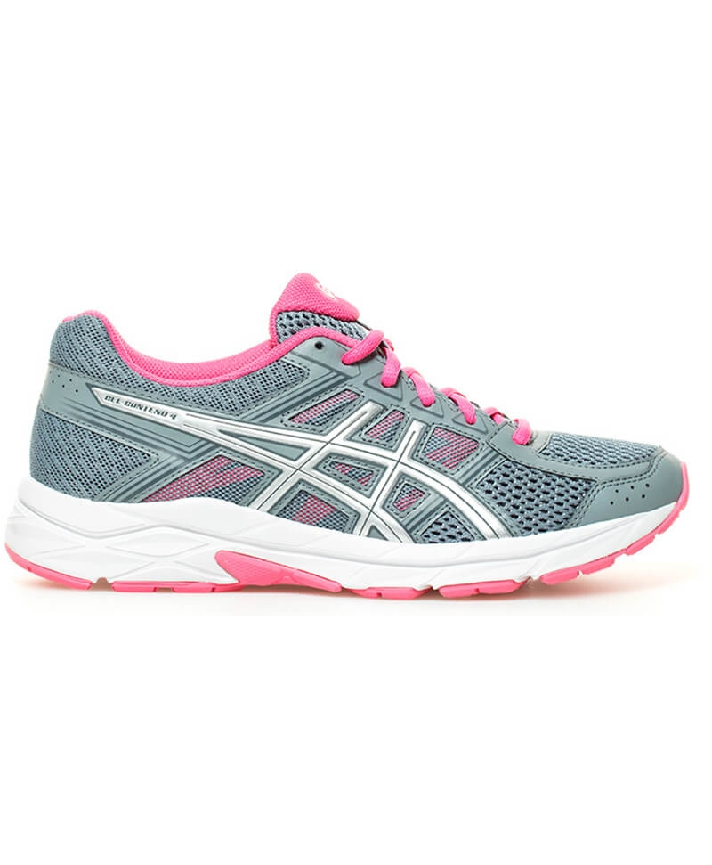 Asics GEL-CONTEND 4 W - Stone Grey / Silver / Hot Pink