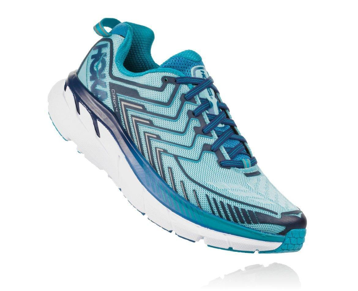 HOKA ONE ONE CLIFTON 4 W - Blue Topaz / Imperial Blue