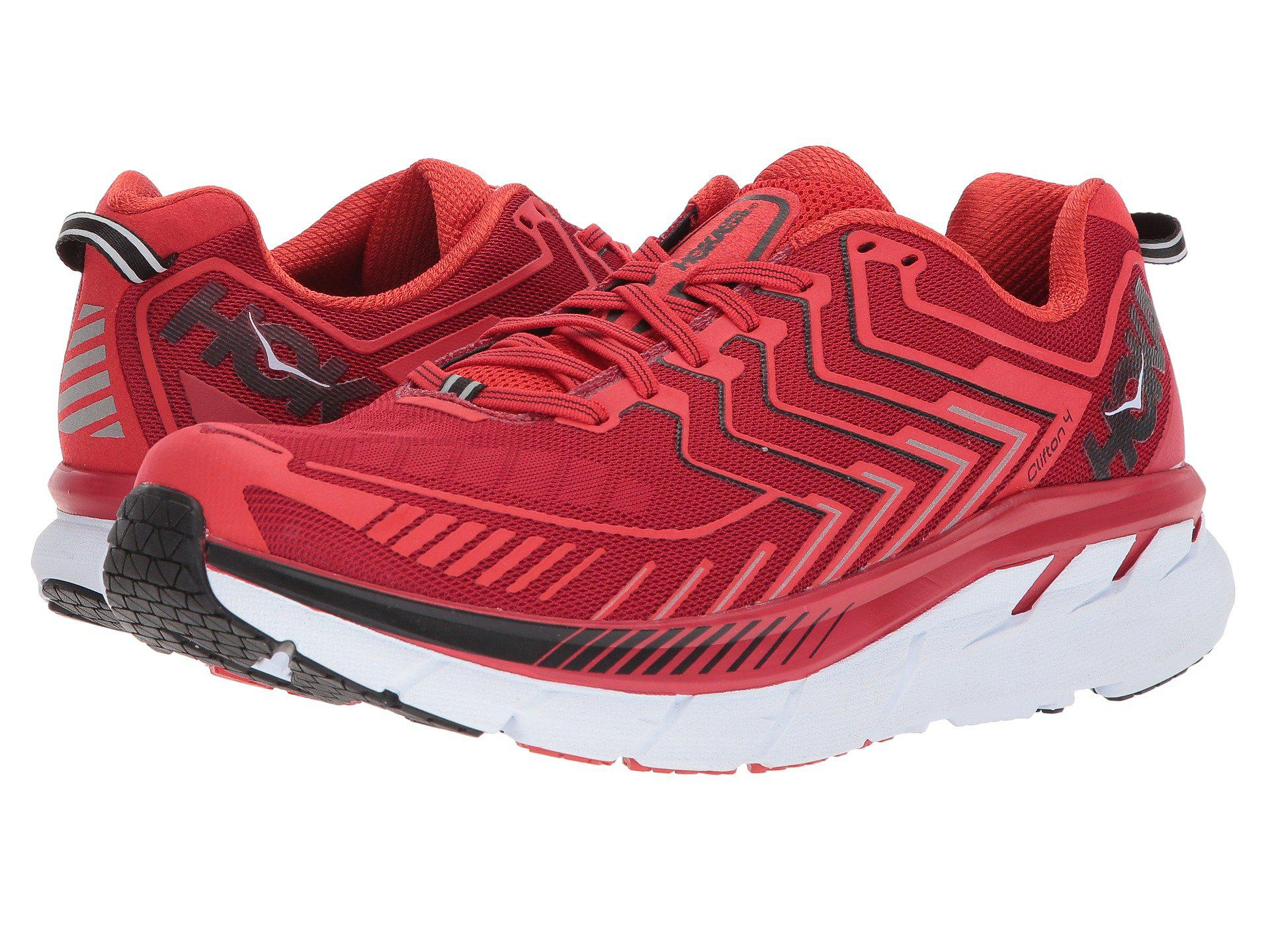 HOKA ONE ONE CLIFTON 4 M - Haute Red / High Risk Red