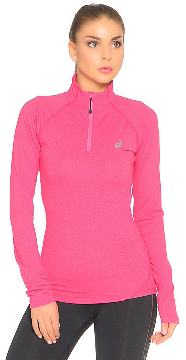 Asics Кофта LS 1/2 Zip Jersey W - Diva Pink Heather