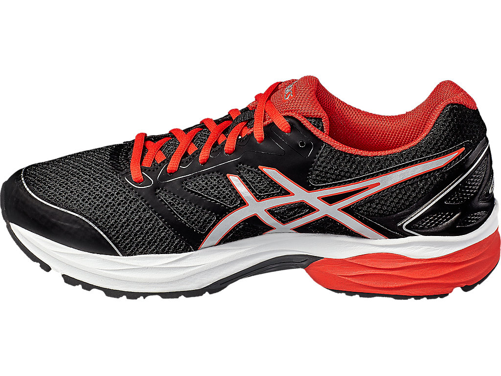 Asics GEL-PULSE 8 M - Black / Vermilion / Silver