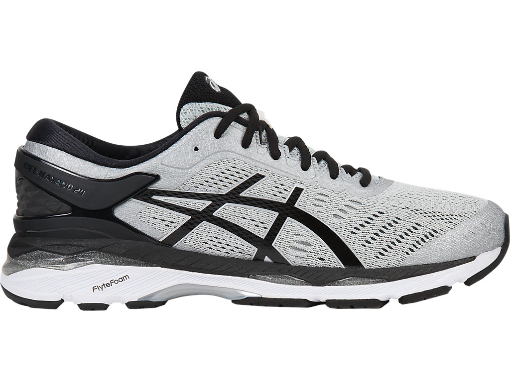 Asics GEL-KAYANO 24 M - Silver/Black/Mid Grey