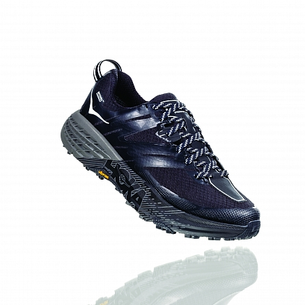 HOKA ONE ONE Hoka W SPEEDGOAT 3 WP - BLACK / PLEIN AIR