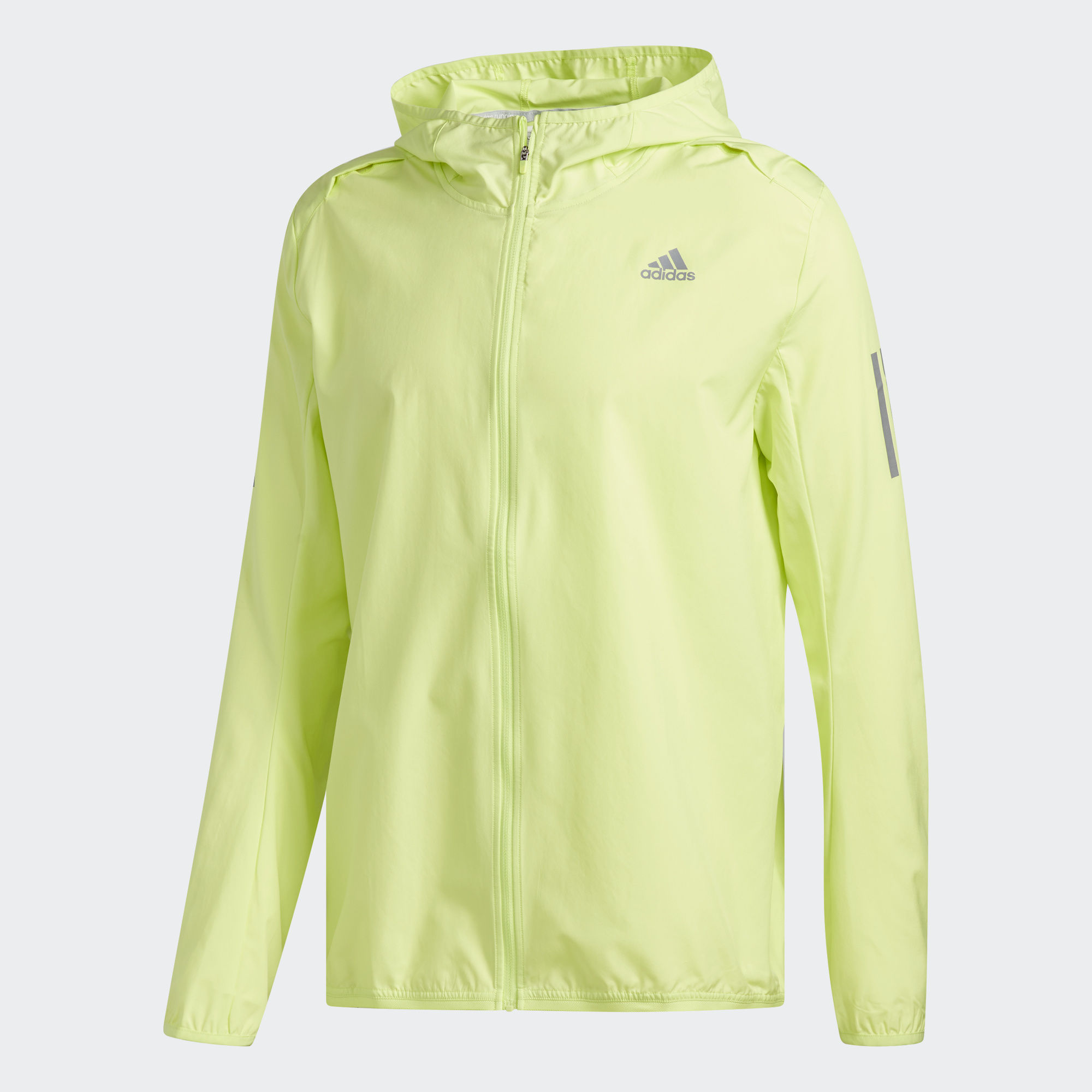 Куртка для бега Adidas Response Hooded M - Semi Frozen Yellow F15