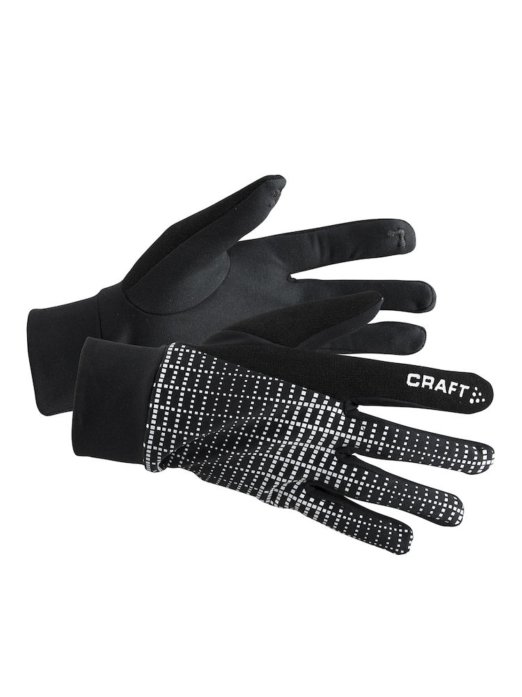 Перчатки CRAFT Brilliant 2.0 Thermal - Black / Reflective