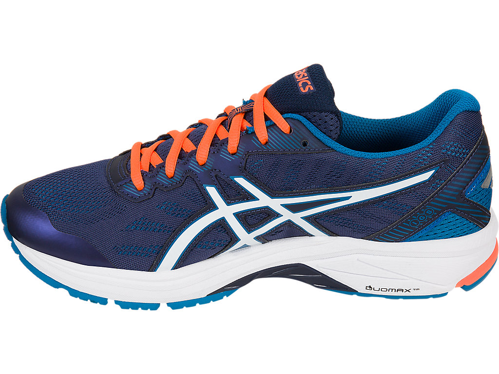 Asics GT-1000 5 M - Indigo Blue / Snow / Hot Orange