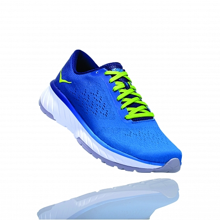 HOKA ONE ONE CAVU 2 M - French Blue / Lime Green