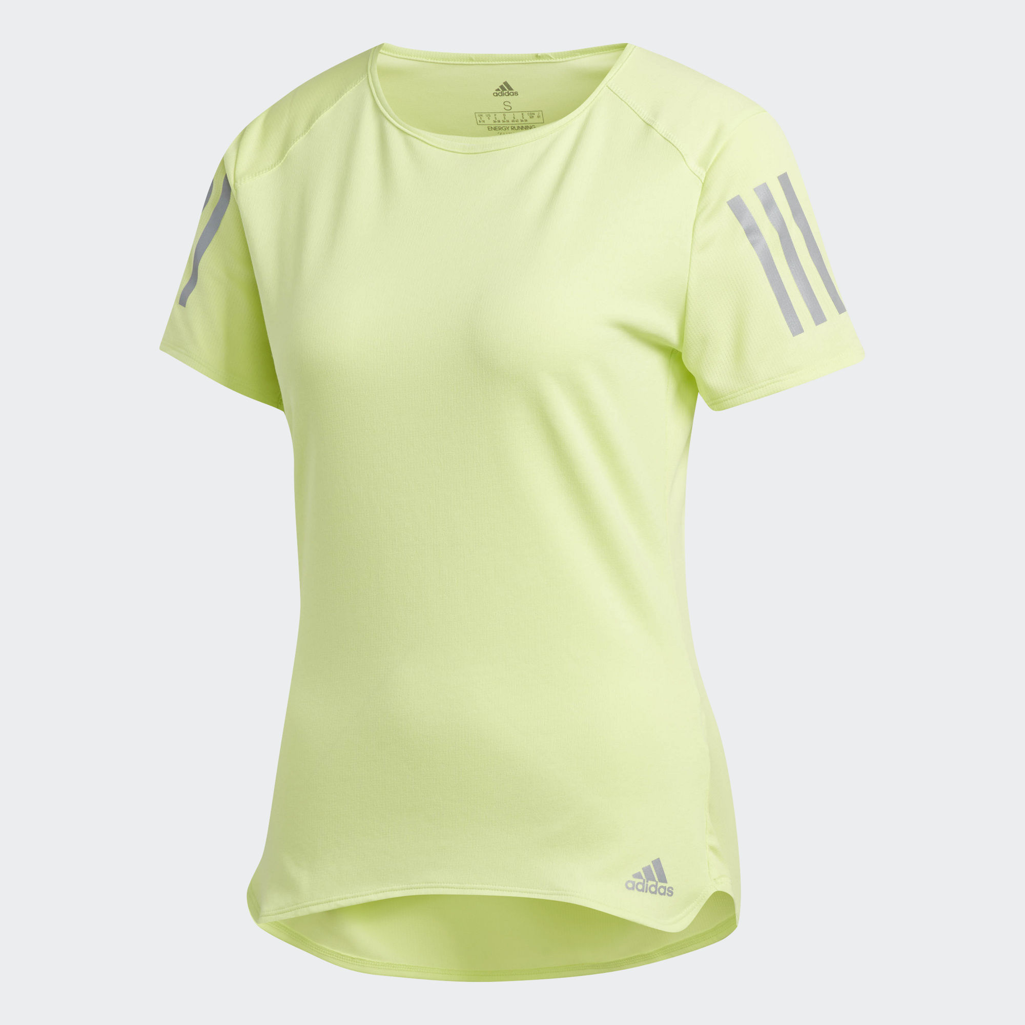 Adidas Футболка для бега Response W - Semi Frozen Yellow F15