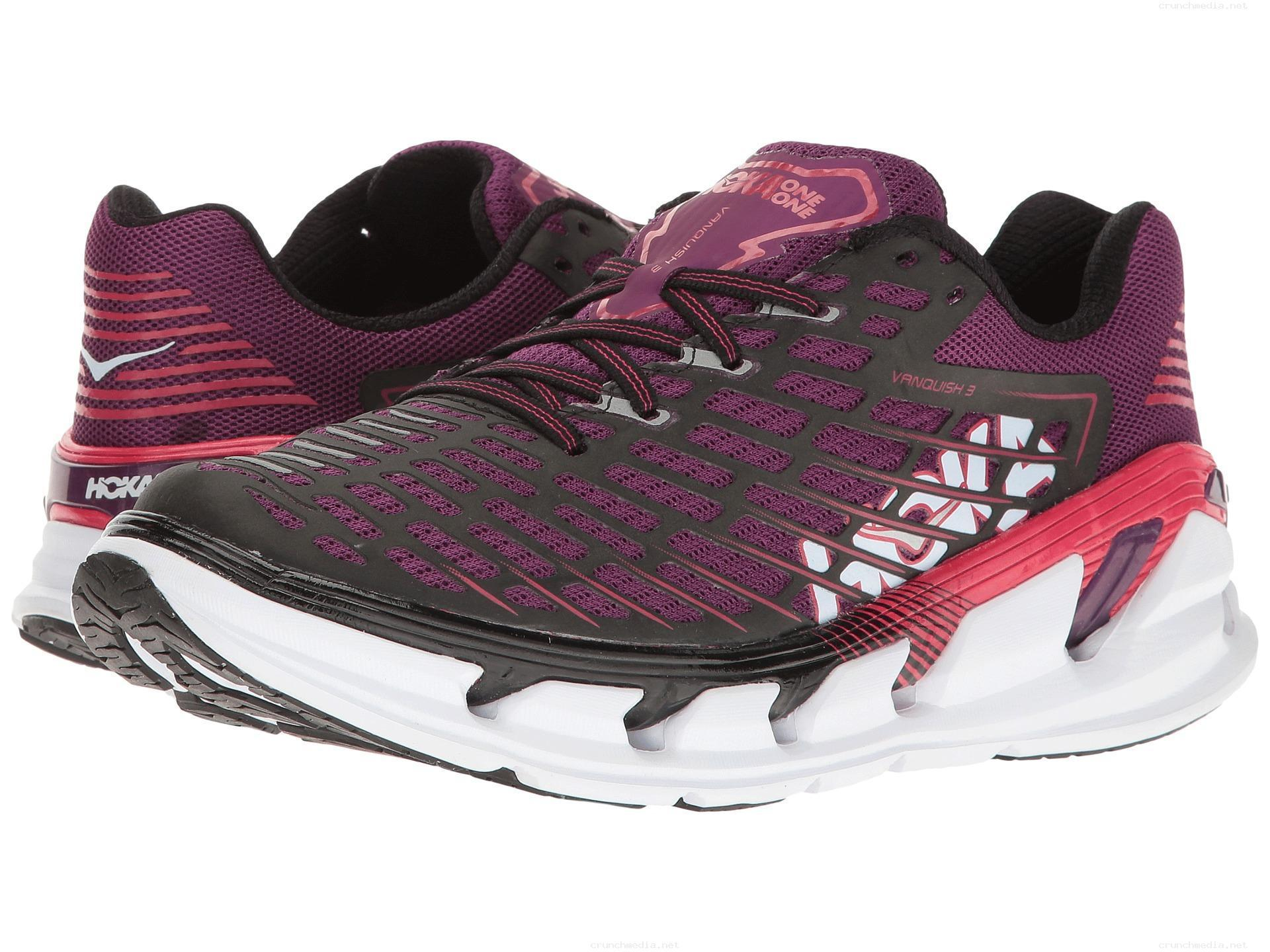 HOKA ONE ONE VANQUISH 3 W - Grape Juice / Virtual Pink