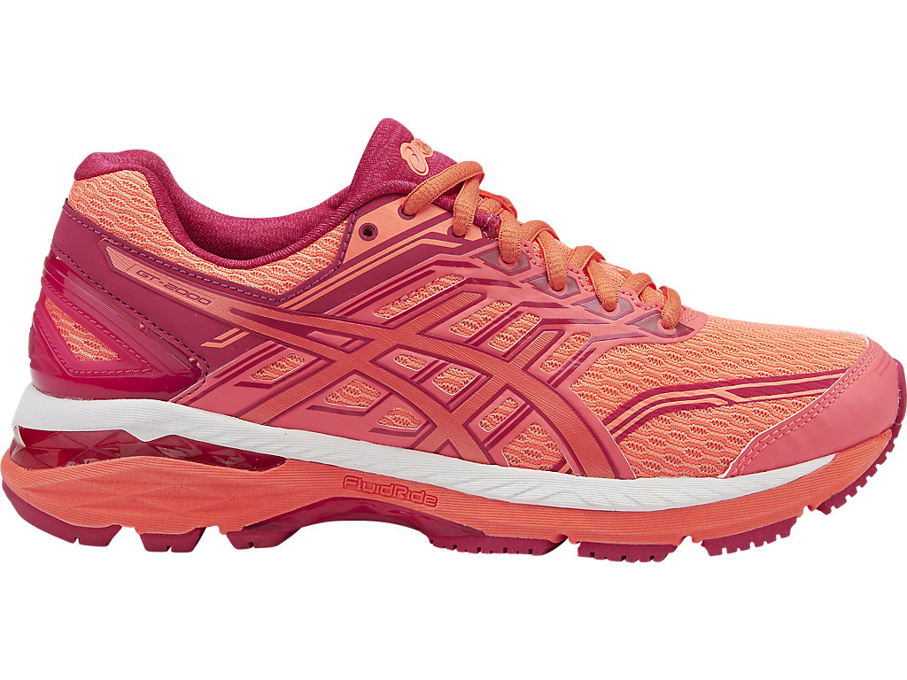 Asics GT-2000 5 W - Flash Coral / Coral Pink / Bright Rose
