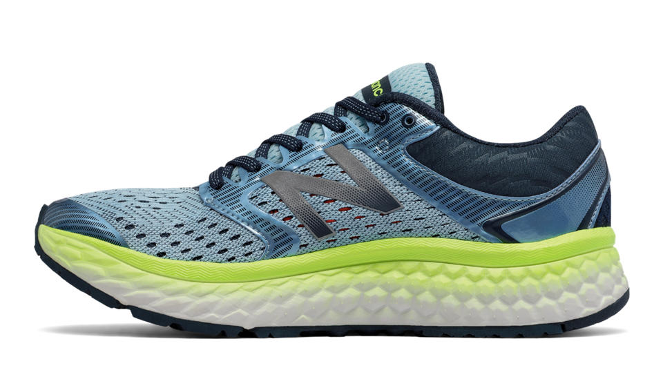 New Balance NB W1080BY7 W - Ozone Blue Glo / Lime Glo