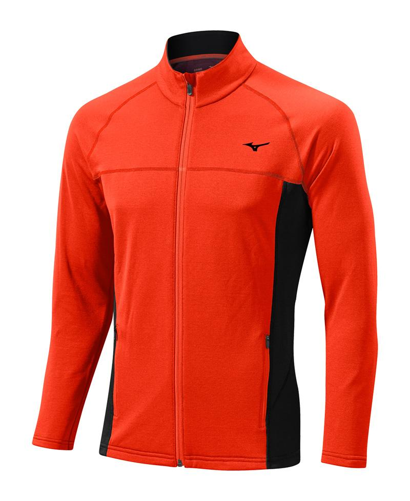Mizuno Куртка Breath Thermo Fleece Jacket M - Orange