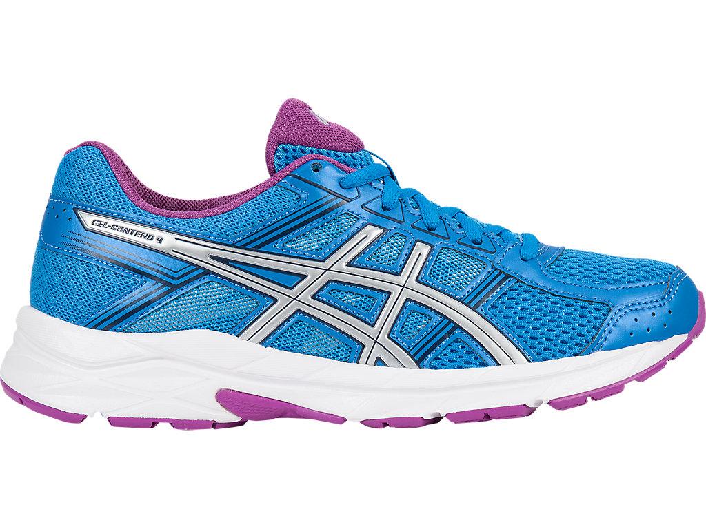Asics GEL-CONTEND 4 W - Diva Blue / Silver / Orchid