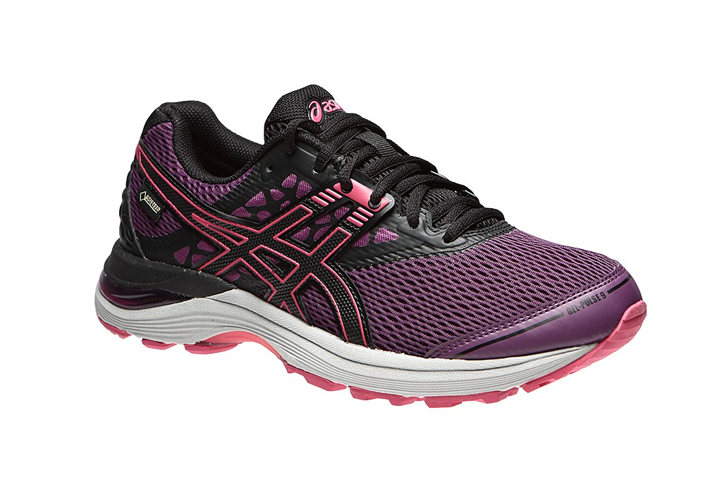 Asics GEL-PULSE 9 G-TX W - Prune / Black / Cosmo Pink