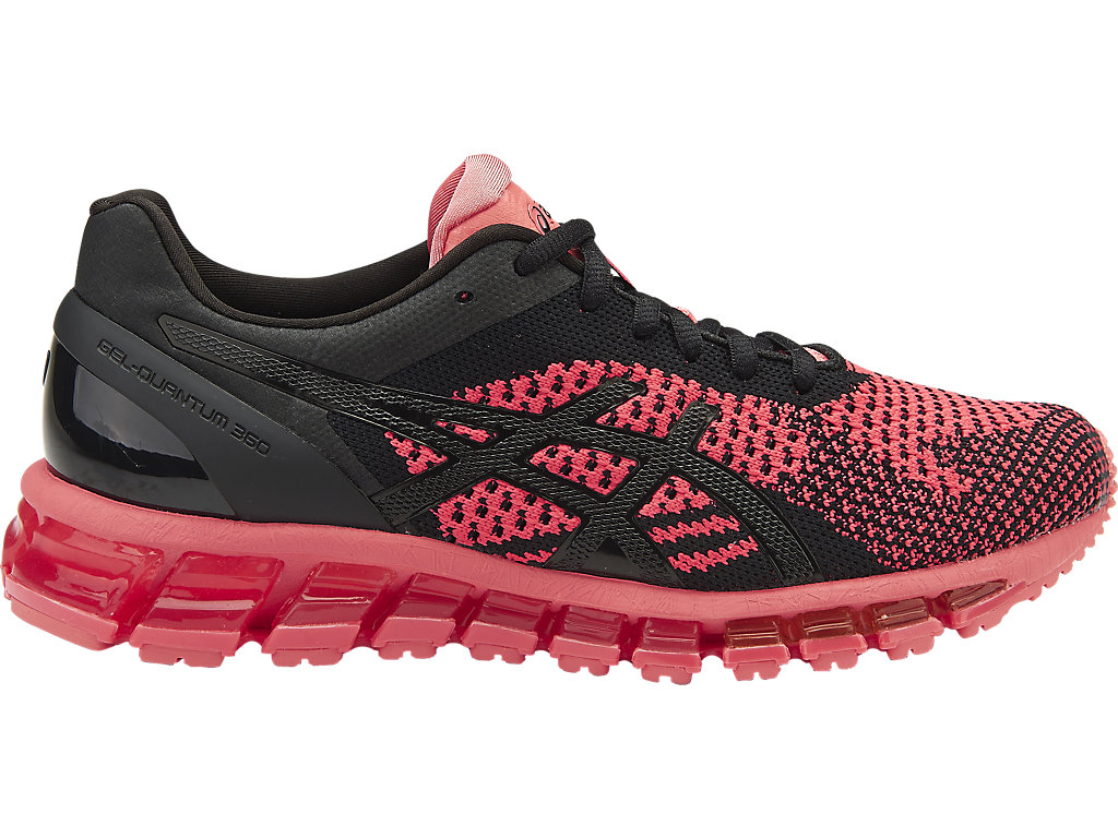 Asics GEL-QUANTUM 360 KNIT W - Peach / Black / Onyx