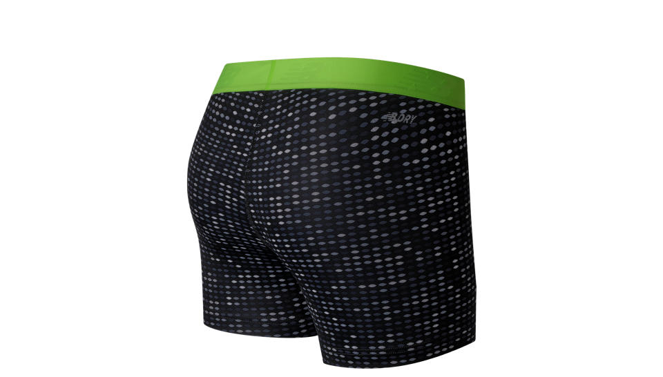 New Balance Шорты ACCLR PT H SHORT W - Black / Lime Glo