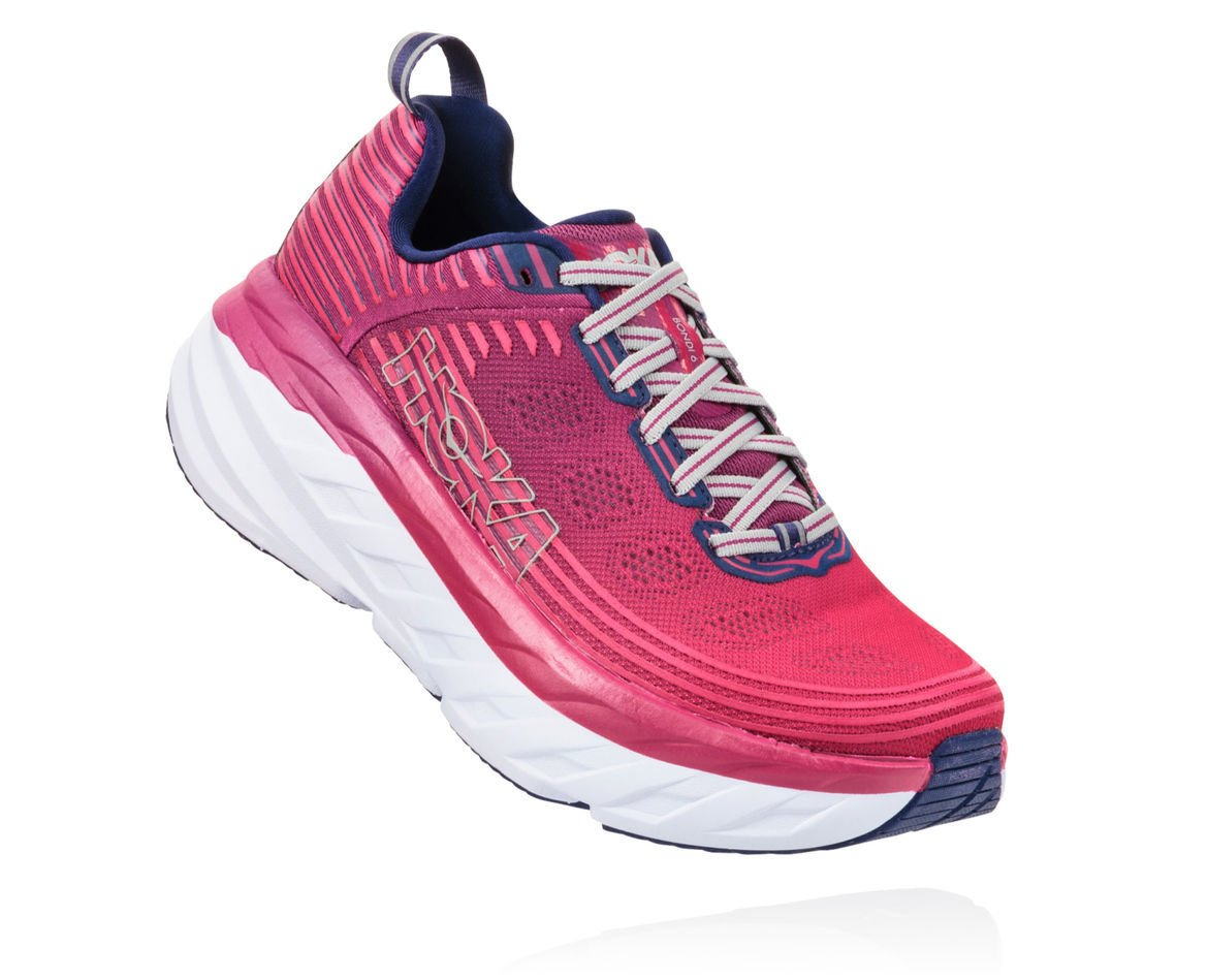 HOKA ONE ONE BONDI 6 W - Boysenberry / Blue Depths