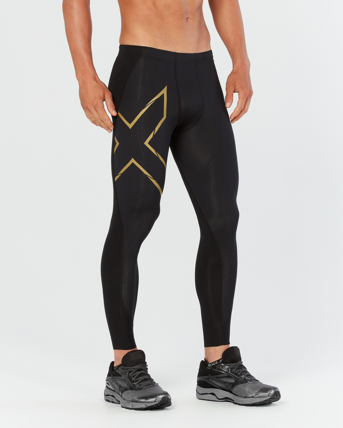 Тайтсы компрессионные 2XU MCS Cross Training M - Black / Gold