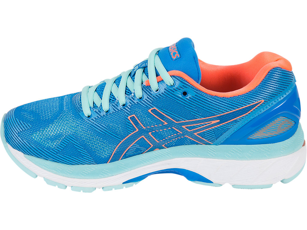 Asics GEL-NIMBUS 19 W - Diva Blue / Flash Coral / Aqua Splash