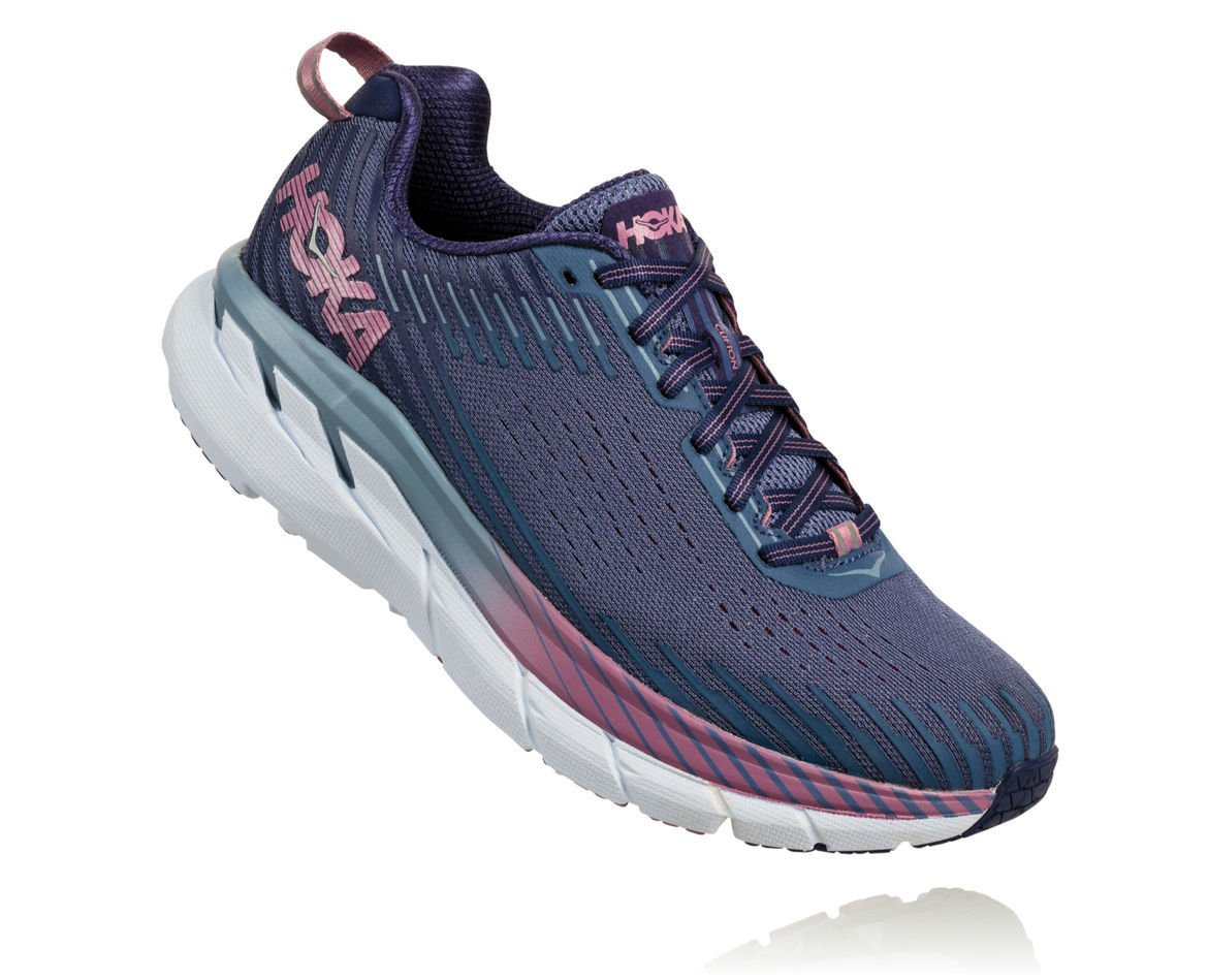HOKA ONE ONE CLIFTON 5 W - Marlin / Blue Ribbon