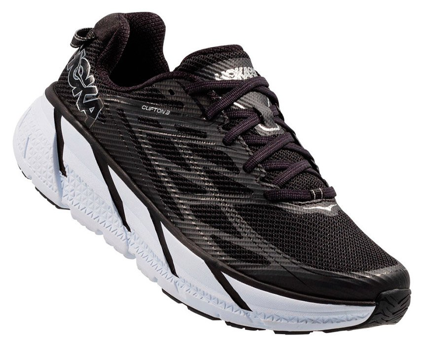 HOKA ONE ONE CLIFTON 3 M - Black / Anthracite