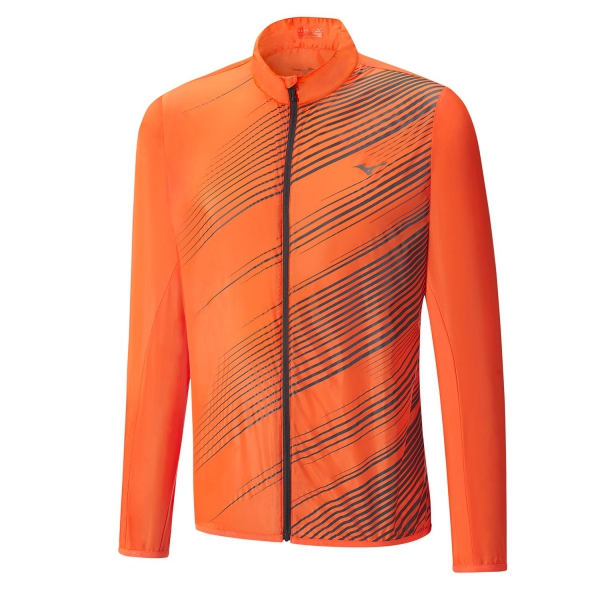 Mizuno Куртка Premium Aero Jacket M - Clown Fish / Tornado