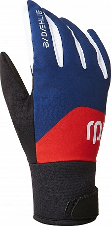 Перчатки беговые Bjorn Daehlie 2018-19 Glove Classic 2.0 - Estate Blue