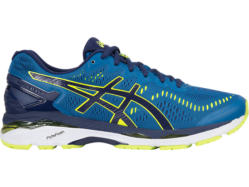 Asics GEL-KAYANO 23 M - Thunder Blue / Safety Yellow / Indigo Blue