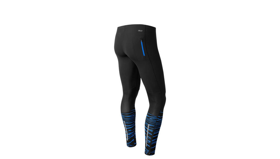 New Balance Тайтсы Impact Tight  PRNT M - Black Print