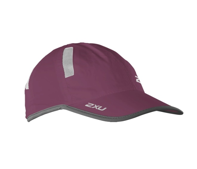 Кепка 2XU Run Cap - Barberry / Ink