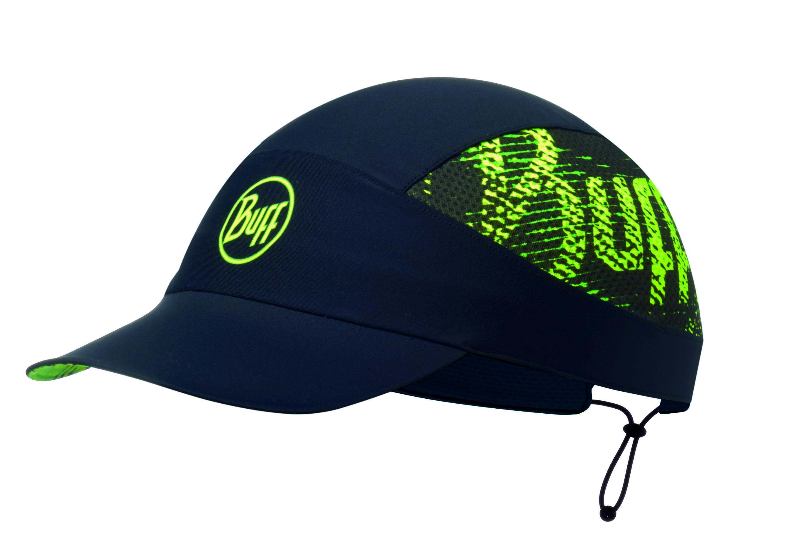 Buff Кепка BUFF Pack Run Cap Patterned R-Flash Logo Black