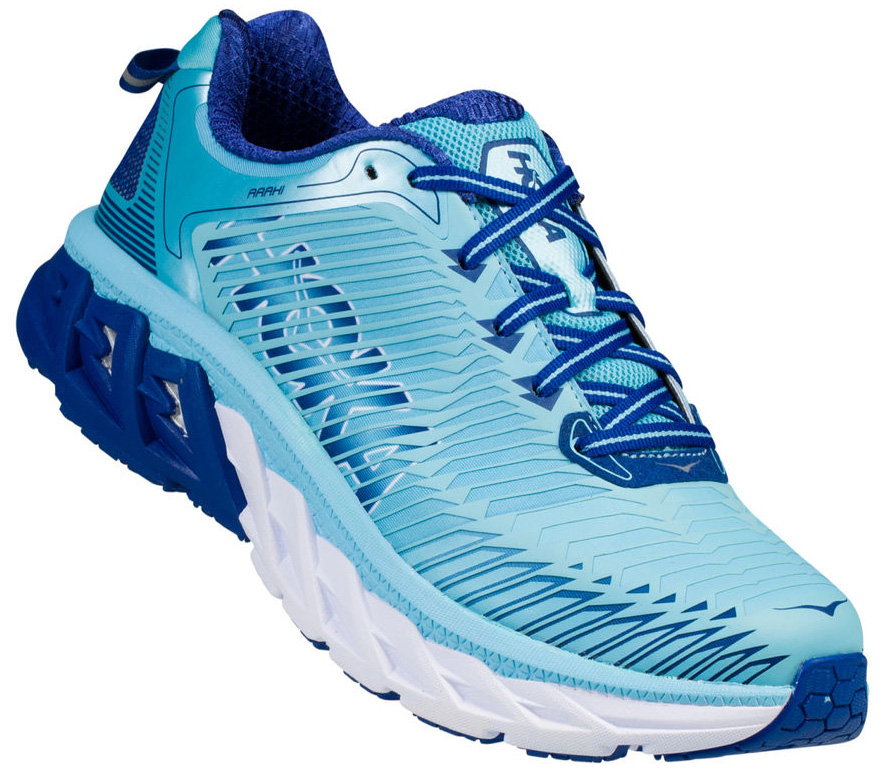 HOKA ONE ONE ARAHI W - Blue Topaz / Electric Blue