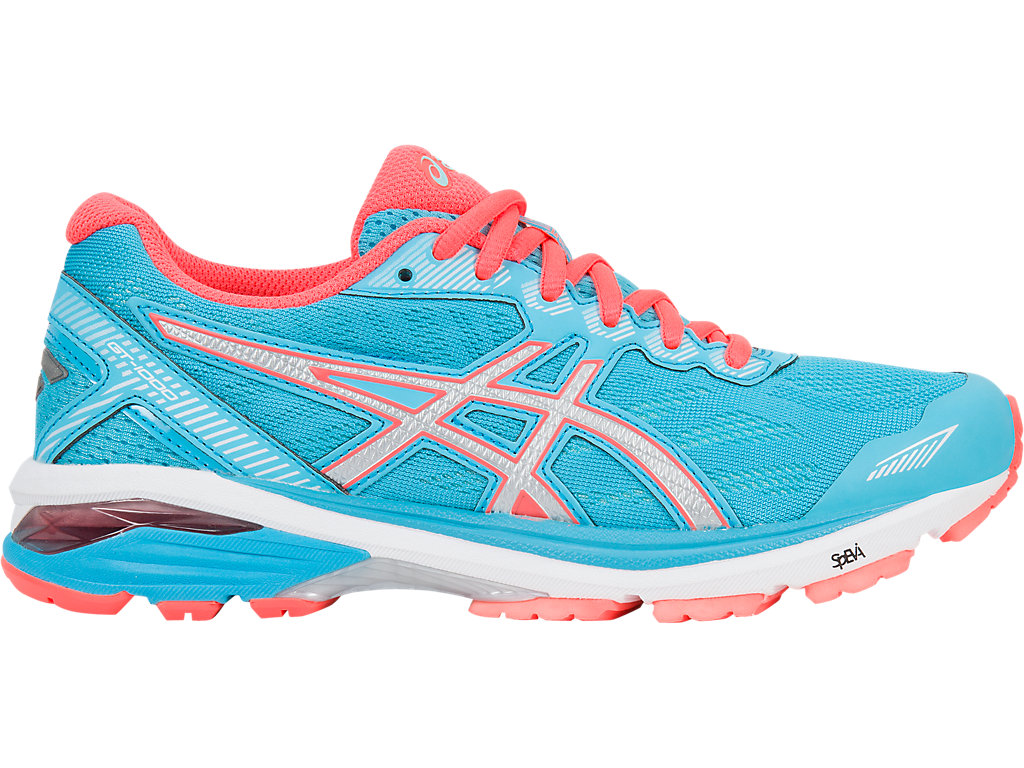 Asics GT-1000 5 W - Aquarium / Silver / Flash Coral