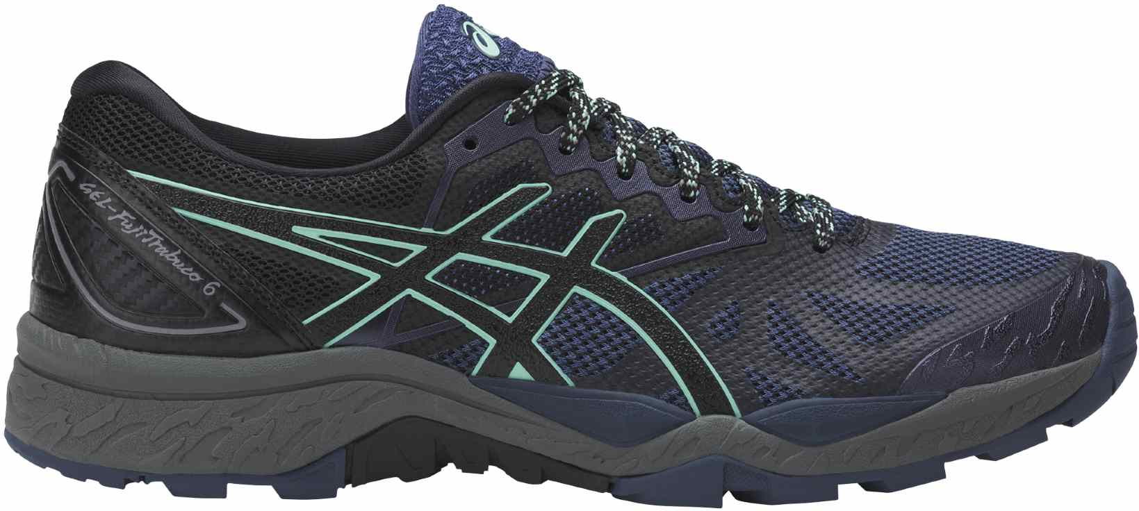 Asics GEL-FujiTrabuco 6 W - Insignia Blue / Black / Ice Green