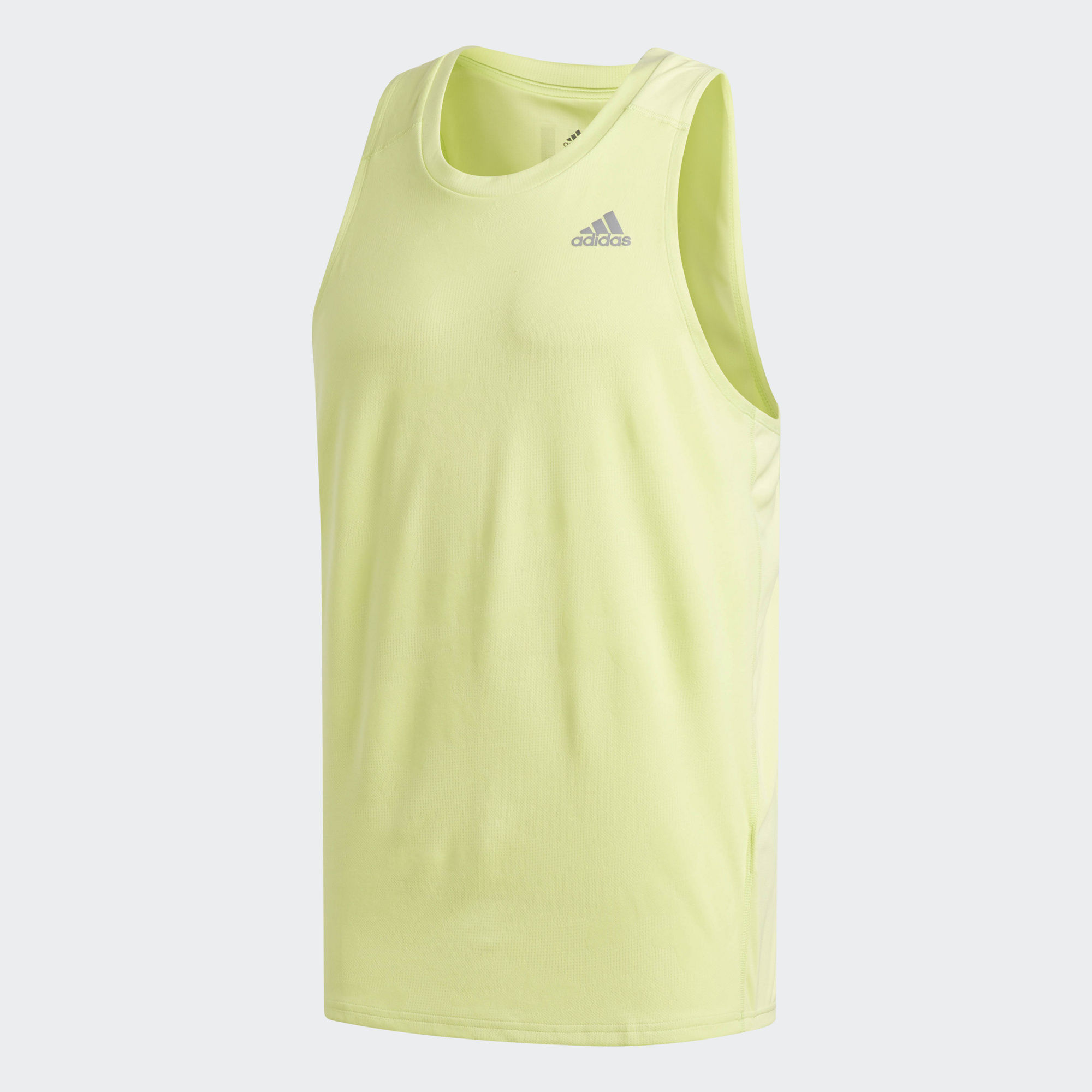 Майка для бега Adidas Response M - Semi Frozen Yellow F15