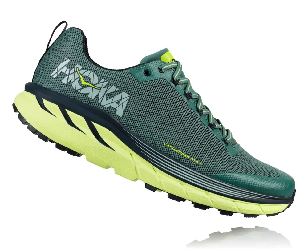 HOKA ONE ONE CHALLENGER ATR 4 M - Silver Pine / Chinos Green