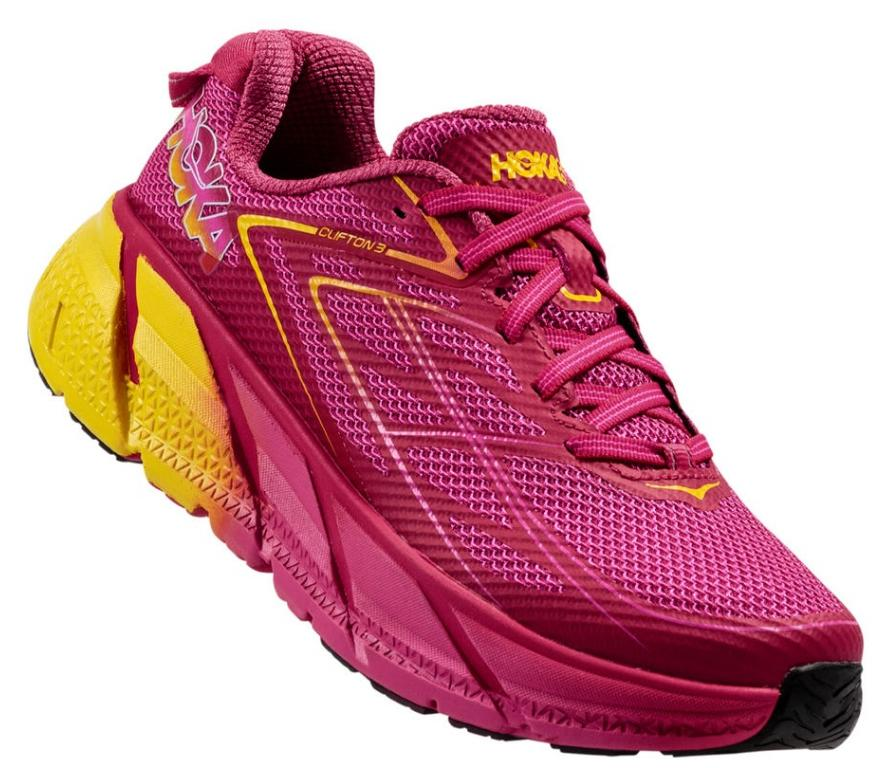 HOKA ONE ONE CLIFTON 3 W - Virtual Pink / Neon Fuchsia