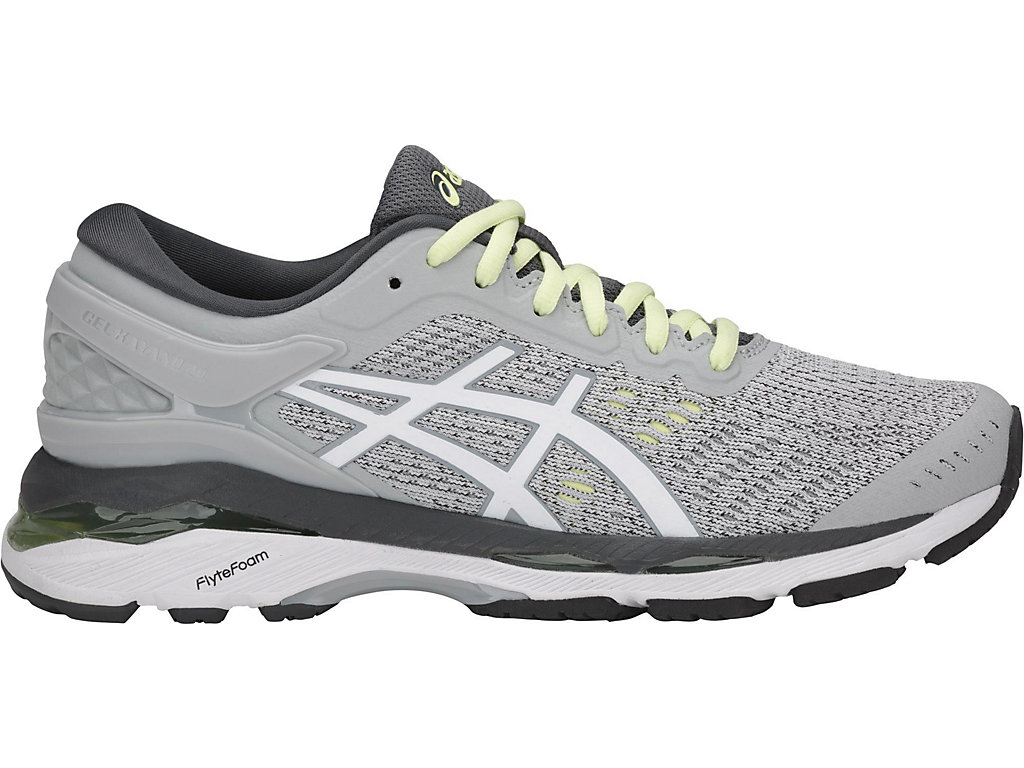 Asics GEL-KAYANO 24 W - Glacier Grey / White / Carbon