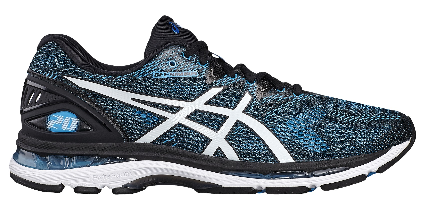 Asics GEL-NIMBUS 20 M - Island Blue / White / Black