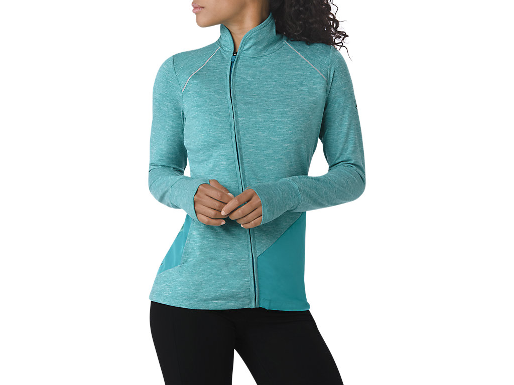 Asics Толстовка Thermopolis Jacket W - Arctic Aqua Heather