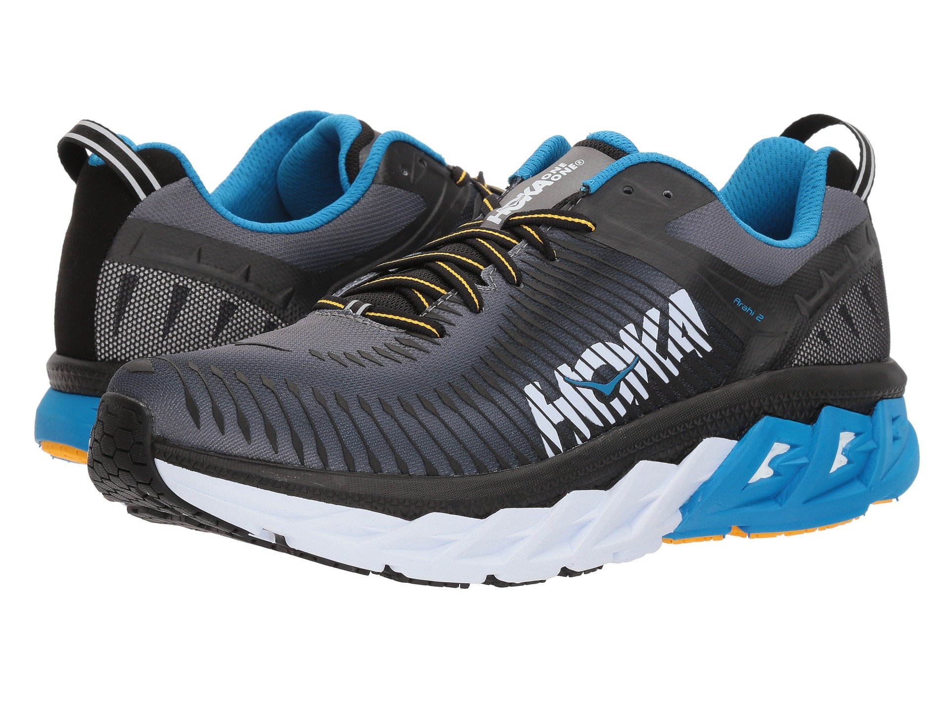 HOKA ONE ONE ARAHI 2 M - Black / Charcoal Grey
