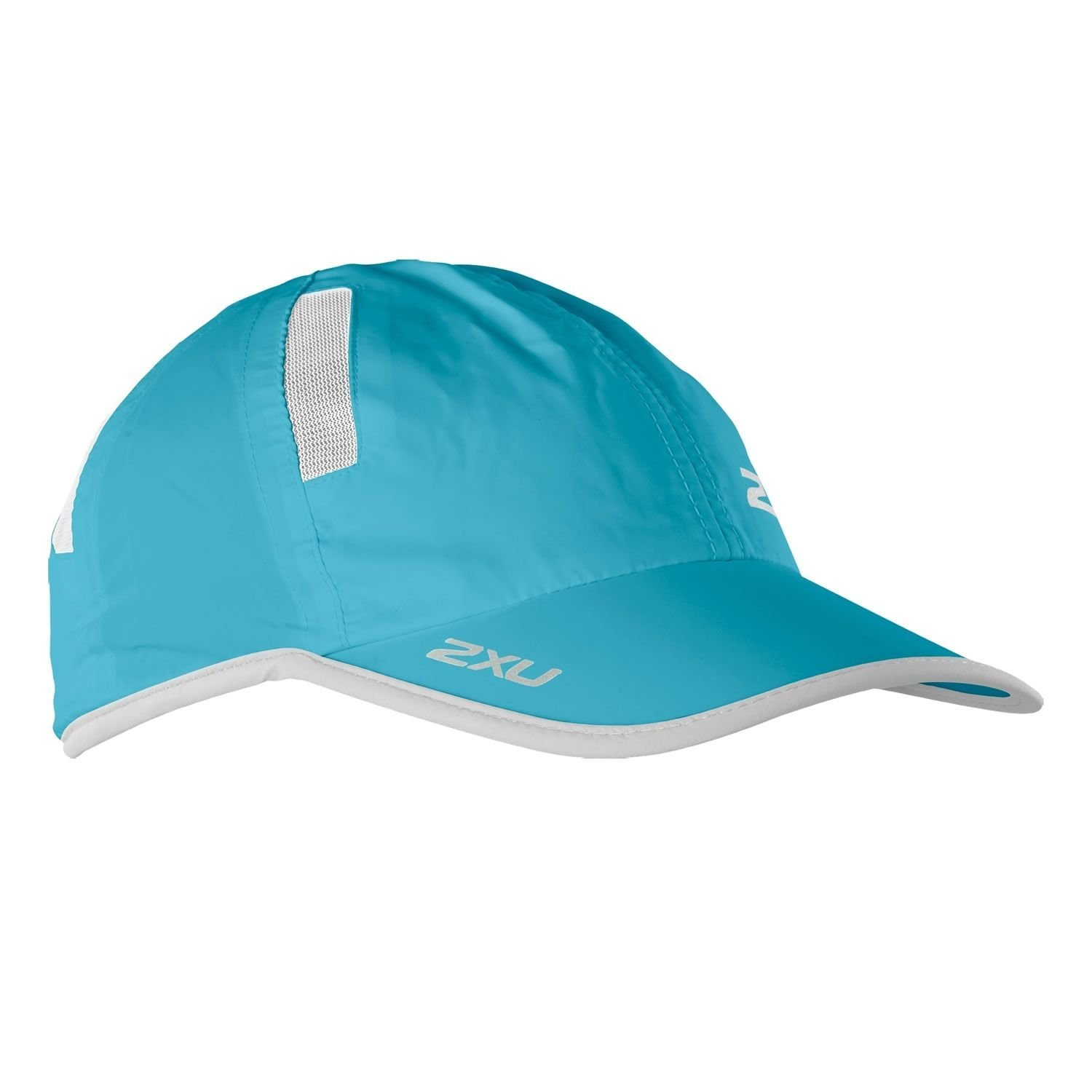 Кепка 2XU Run Cap - Blue Atoll / White