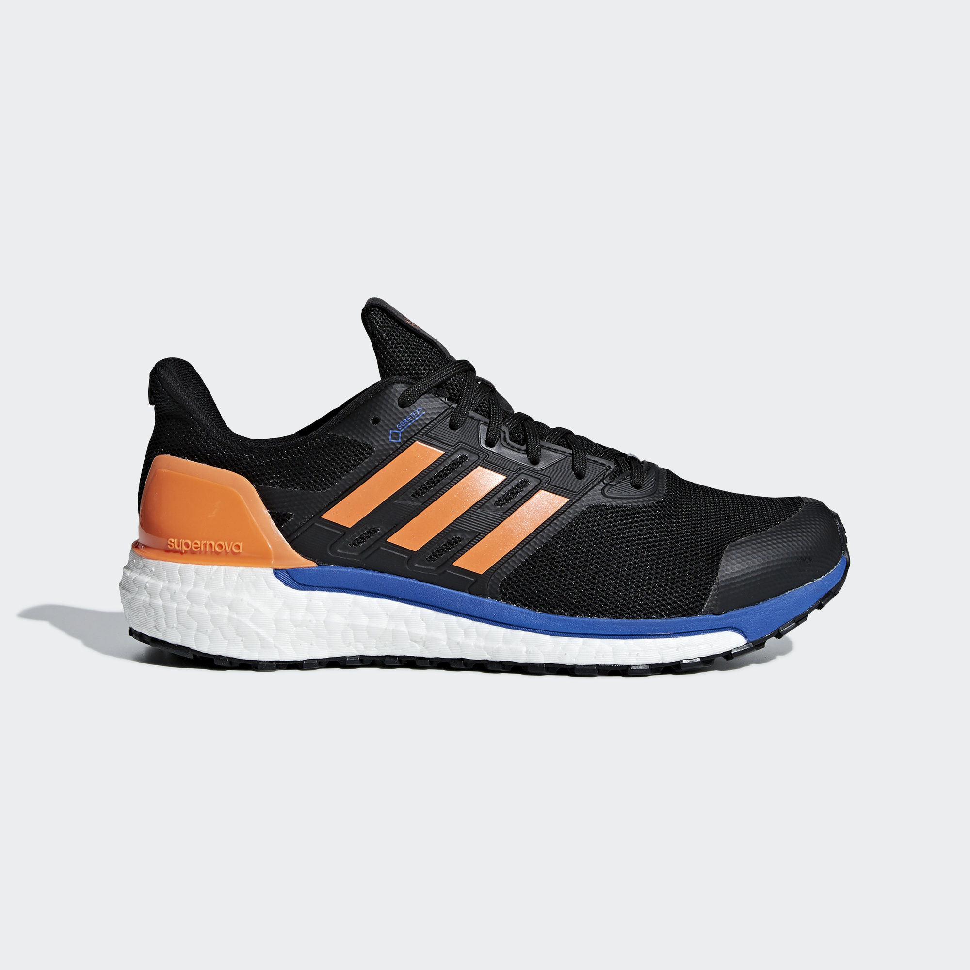 Adidas SUPERNOVA Gore-Tex M - core black / hi-res orange s18 / hi-res blue s18