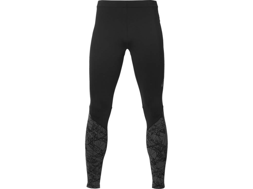 Asics Тайтсы fuzeX Graphic Tight M - Optical Dark Grey