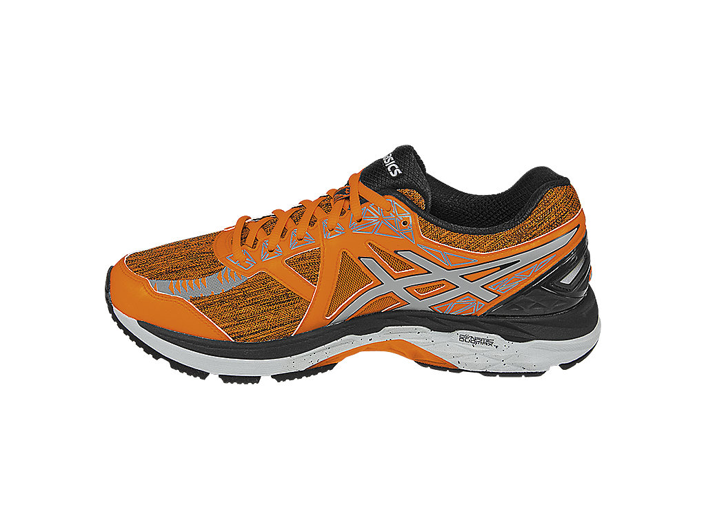 Asics GT-2000 4 LS M - Hot Orange / Silver / Black