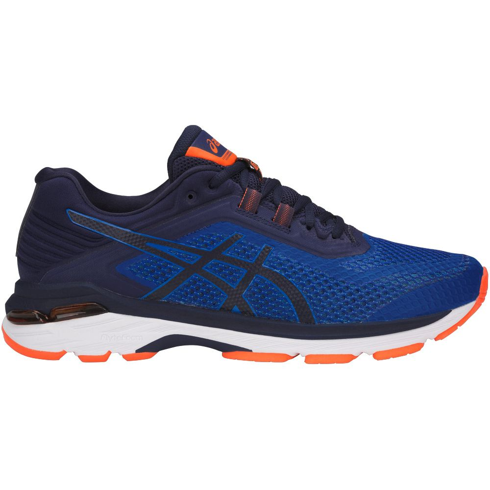 Asics GT-2000 6 M - Imperial / Indigo Blue / Safety Yellow